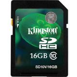 KINGSTON SDHC 16GB Class 10 [SD10V/16GB] - Secure Digital / Sd Card